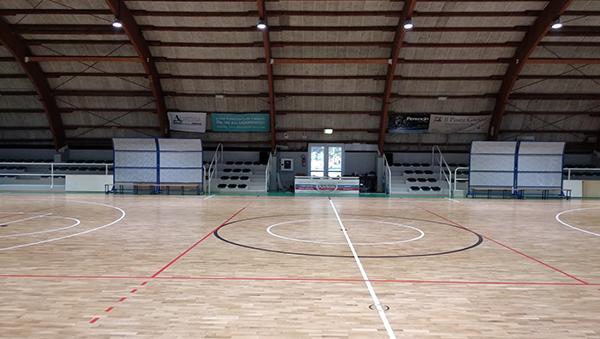 palazzetto dello sport (interno)