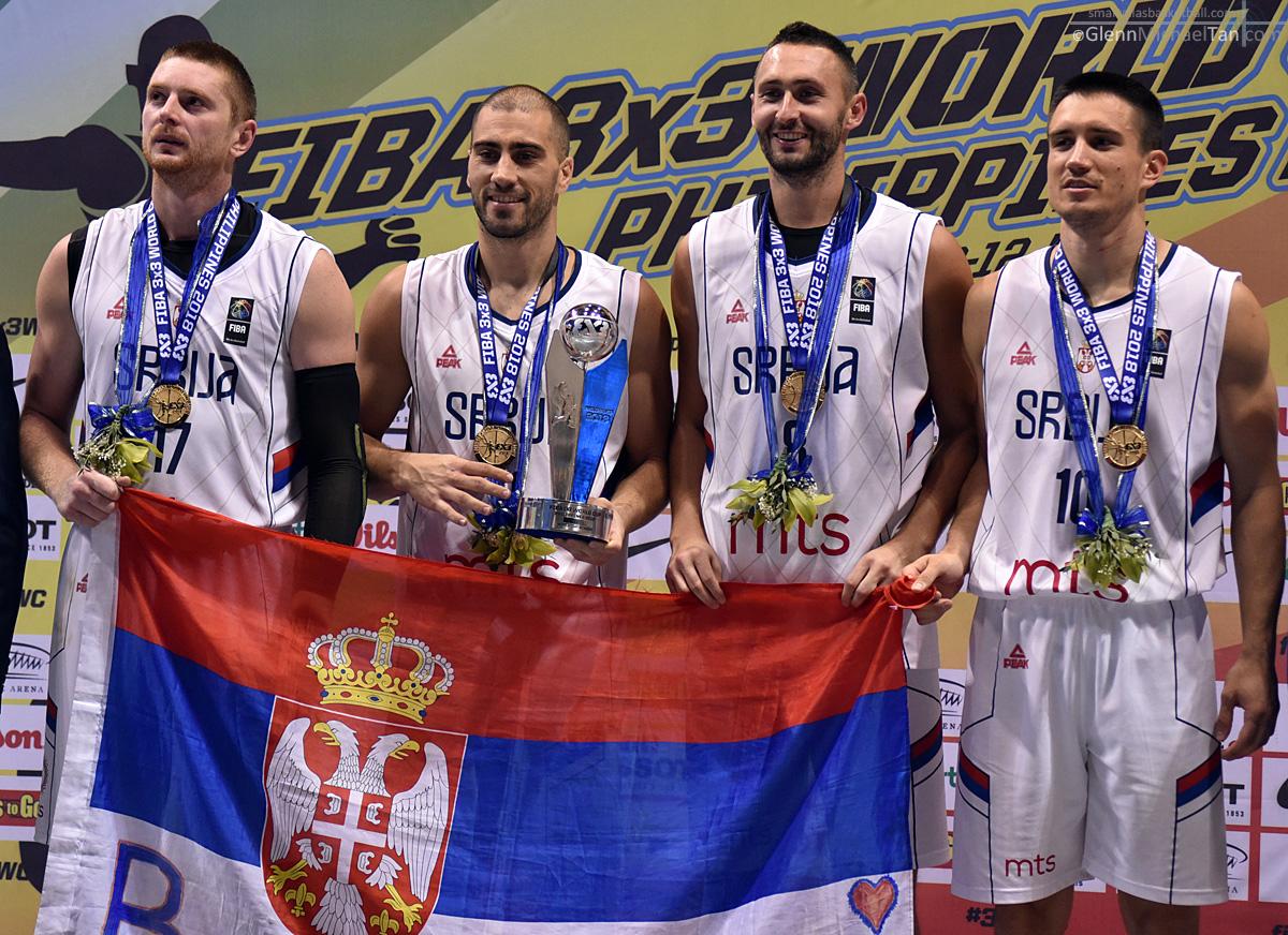 3x3 2018 - Serbia