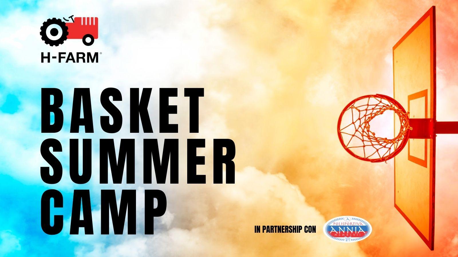 banner Basket Summer Camp H-FARM