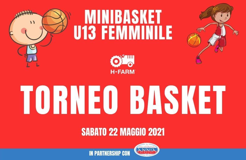 Torneo Minibasket e U13 femminile H-farm
