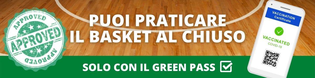 Green pass Inizio stagione 2021-2022
